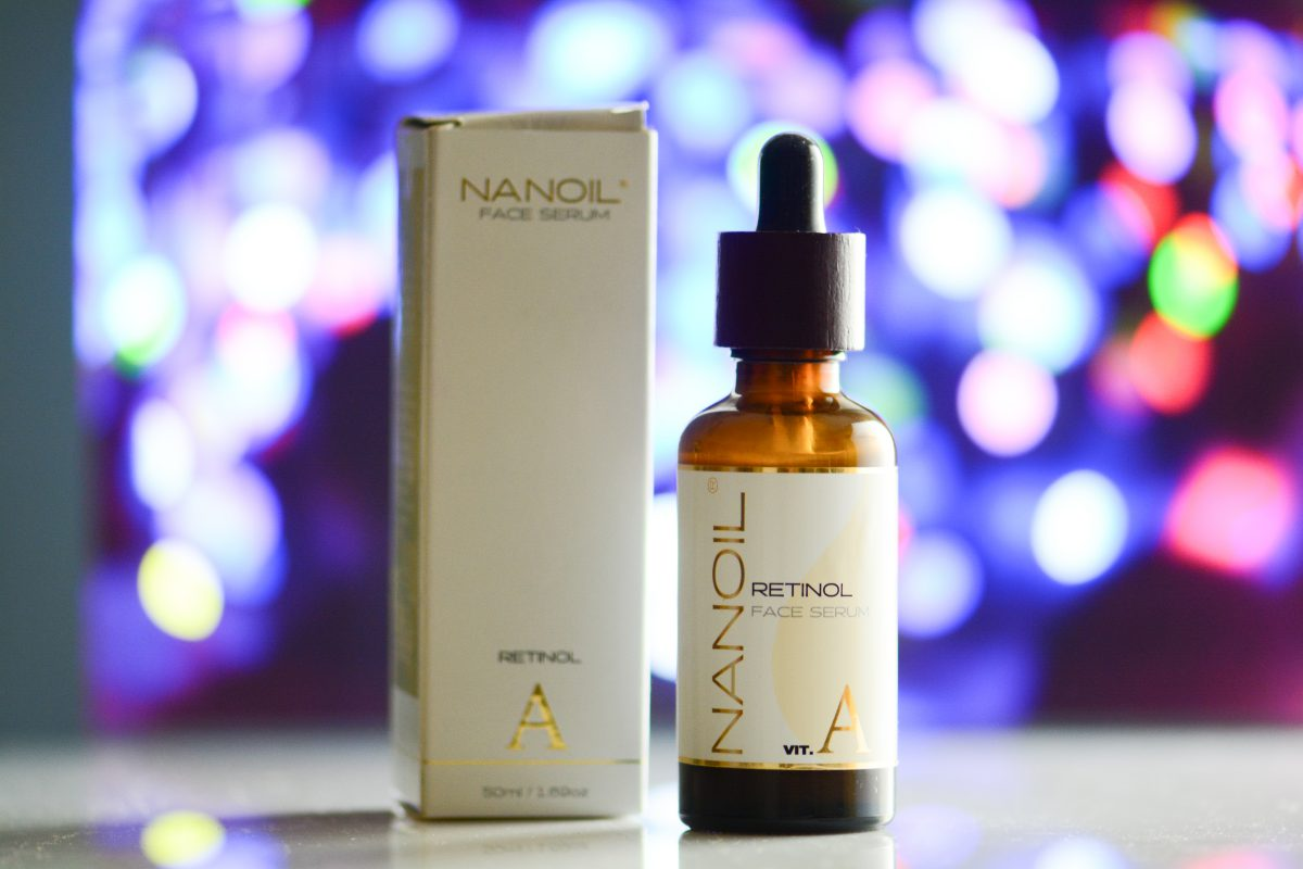 retinolos arcszérum Nanoil